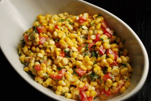 Corn Pepper Salad