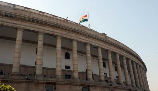 'भारत के सच्चे सपूत' को श्रद्धांजलि देने के बाद संसद दिनभर के लिए स्थगित