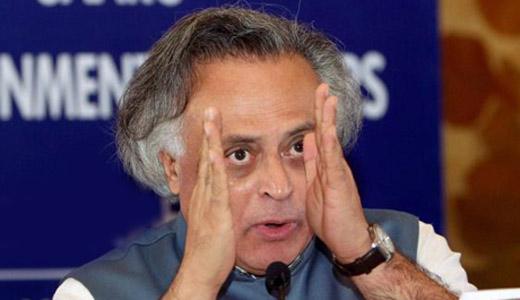 जयराम रमेश ने मोदी के बिहार दौरे के विरोध में 'महा-धरना' का नेतृत्व किया