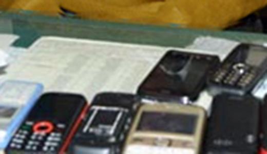 भोंडसी जेल के भीतर 160 मोबाइल फोन का पता चला